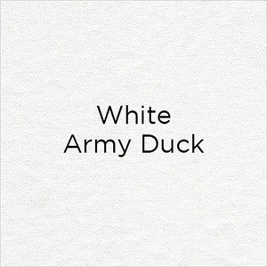 white army duck fabric