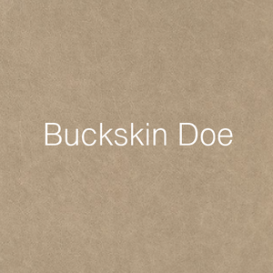 buckskin doe leather swatch