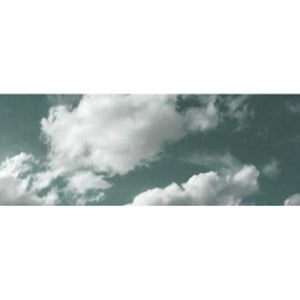Cloud photography on acrylic material
