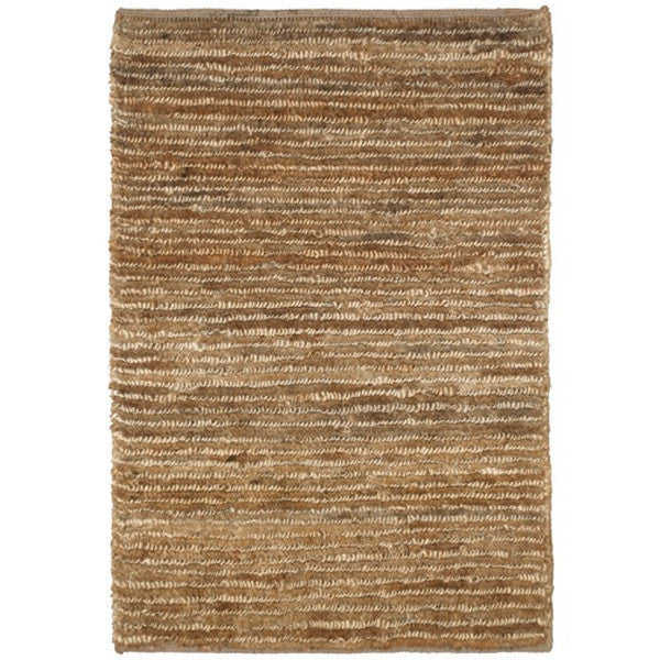 Silky look area rug