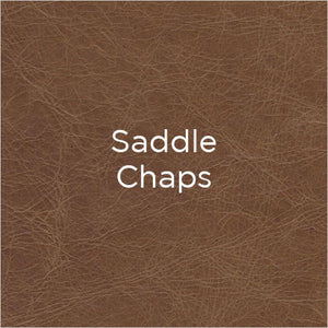 saddle chaps leather swatch