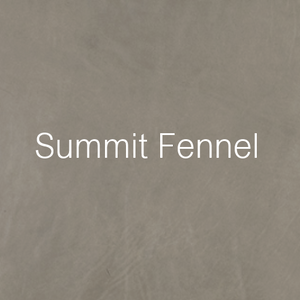 summit fennel leather swatch