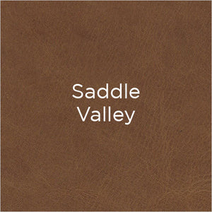 saddle valley leather swatch