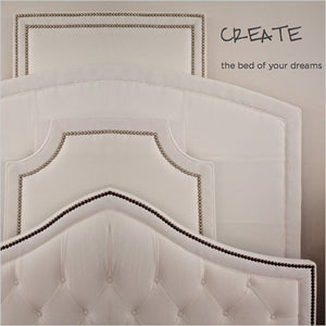 create your own upholstered headboard
