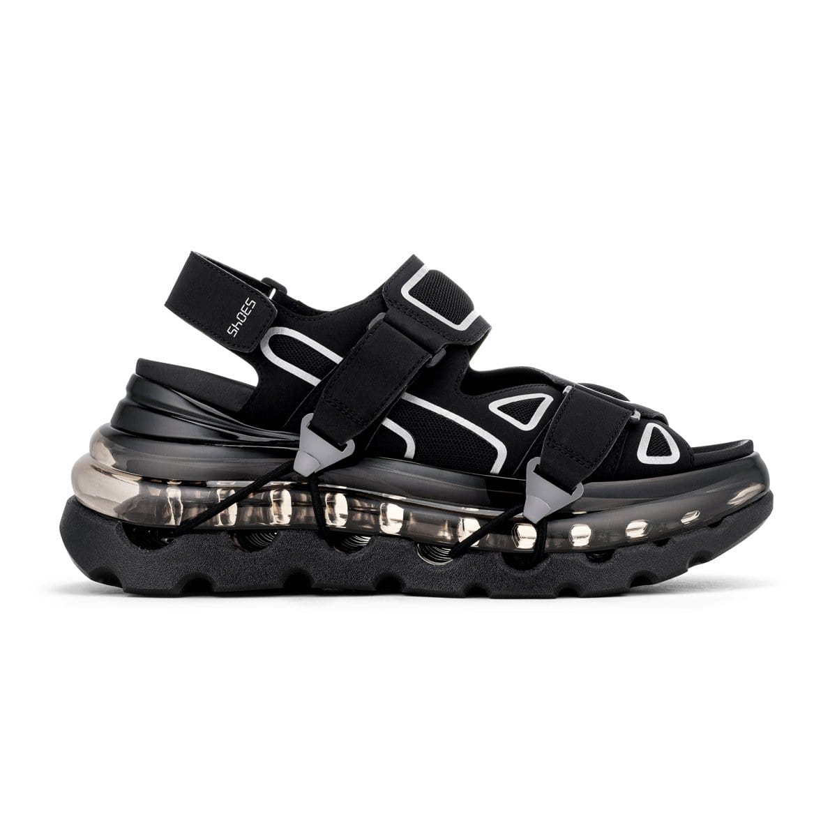 SHOES 53045 - SKYWALK'AIR - BLACK
