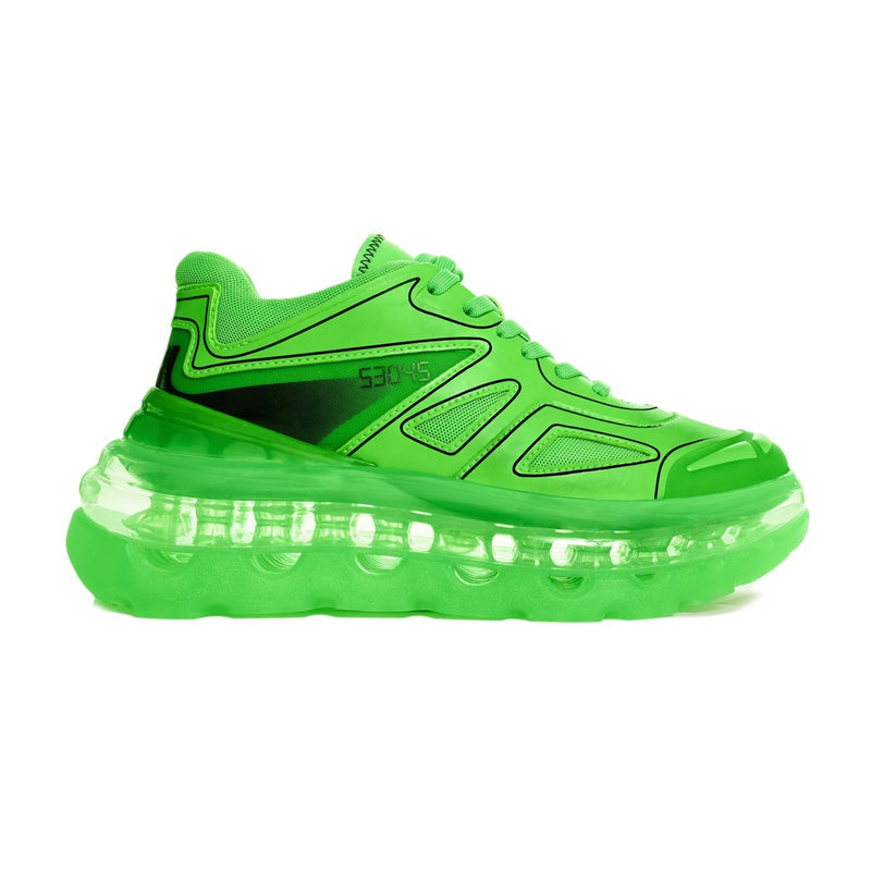 SHOES 53045  - BUMP'AIR - NEON GREEN