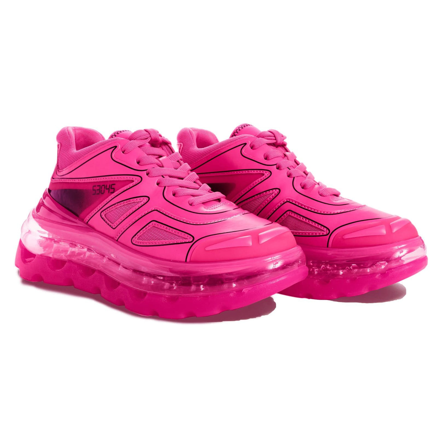 SHOES 53045 - Bump'Air Neon Pink