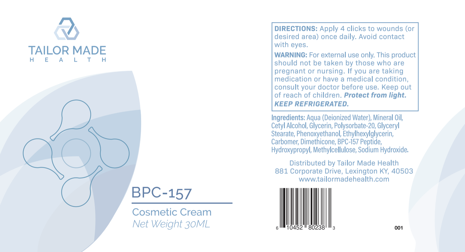 BPC-157 Cosmetic Cream