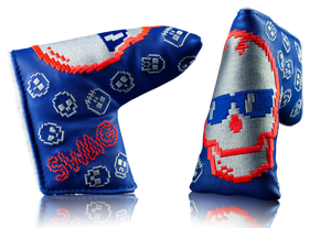 "Swag Golf ""8 Bit Skull"" Blade Headcover"