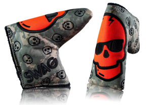"Swag Golf ""Camo Skull"" Headcover"