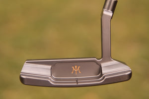 Miura Left Hand KM-006 Putter (Nickel Satin)