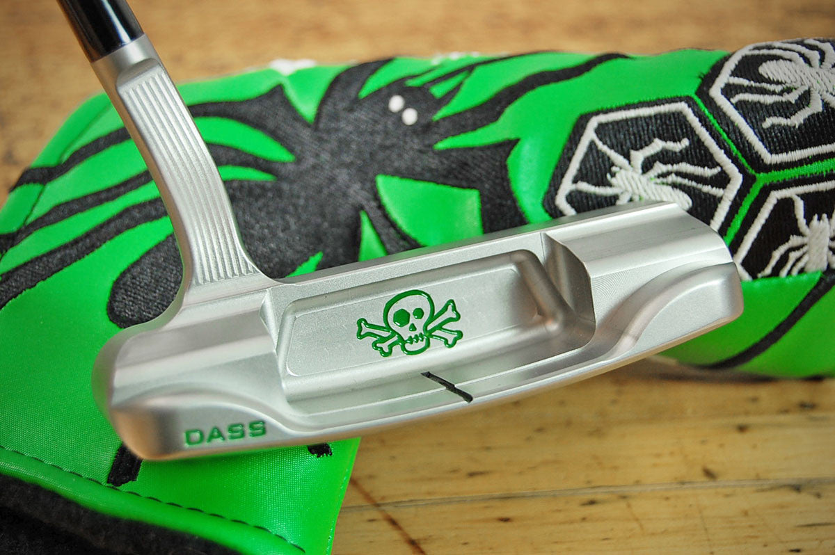 Bettinardi ICON Slime Green Skull & Bones