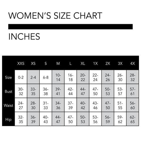 Centimeters Sizing Chart JPG