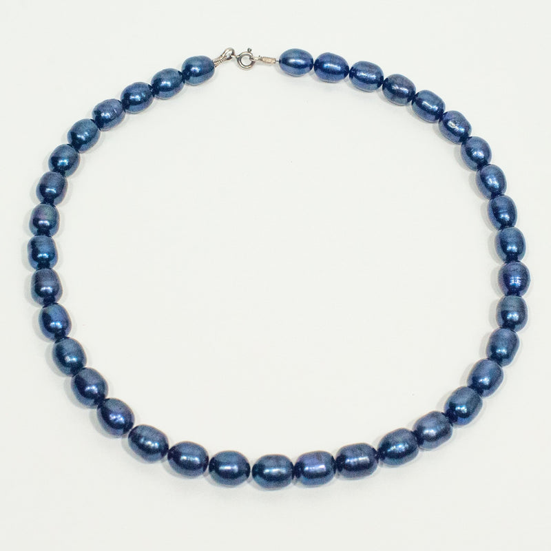 Blueberry Pearl Necklace - Blue Sky Clothing Co