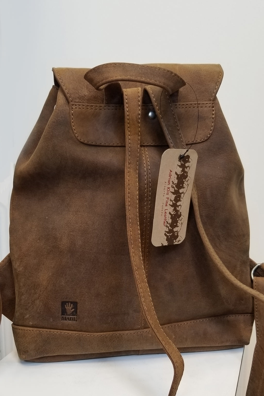 Adrian Klis Backpack 2171, Buffalo Leather - Blue Sky Clothing Co