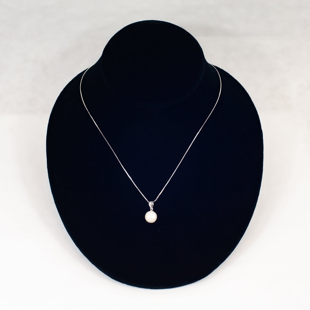 Single Pearl Necklace - Blue Sky Clothing Co