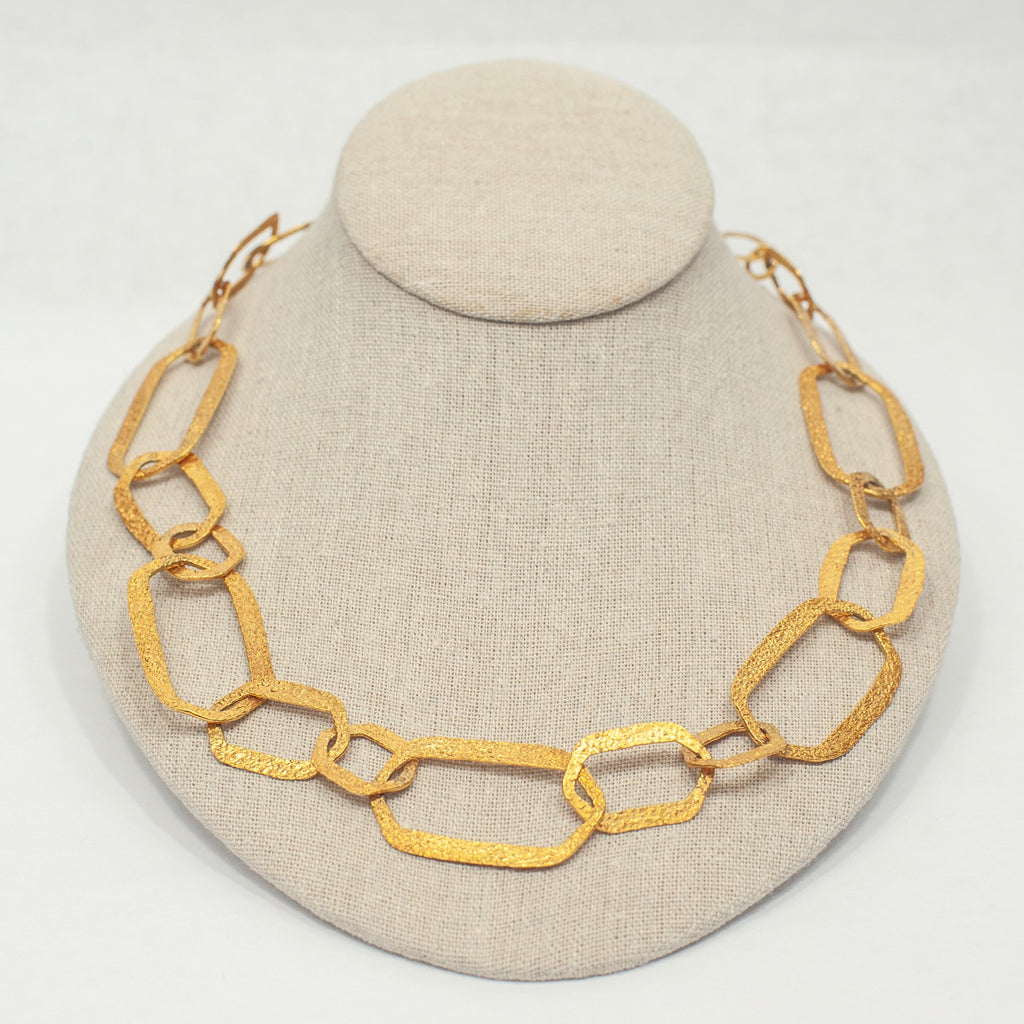 Gold Anchor Chains - Blue Sky Clothing Co