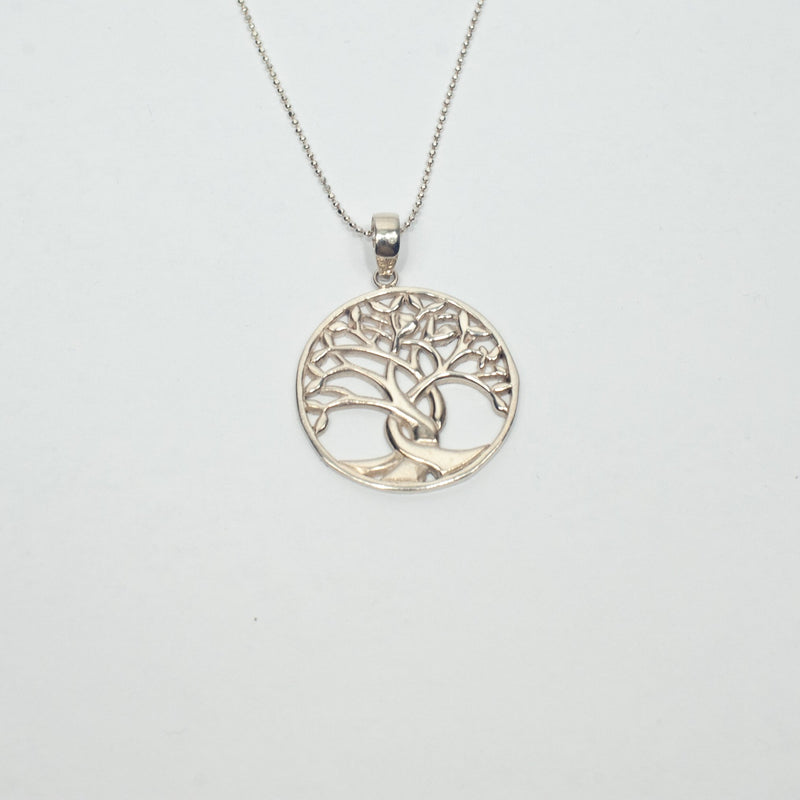 Silver Tree of Life Pendant Necklace - Blue Sky Clothing Co