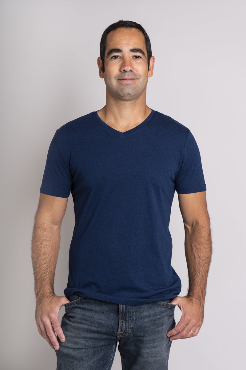 Adam Top, Indigo, Bamboo - Blue Sky Clothing Co