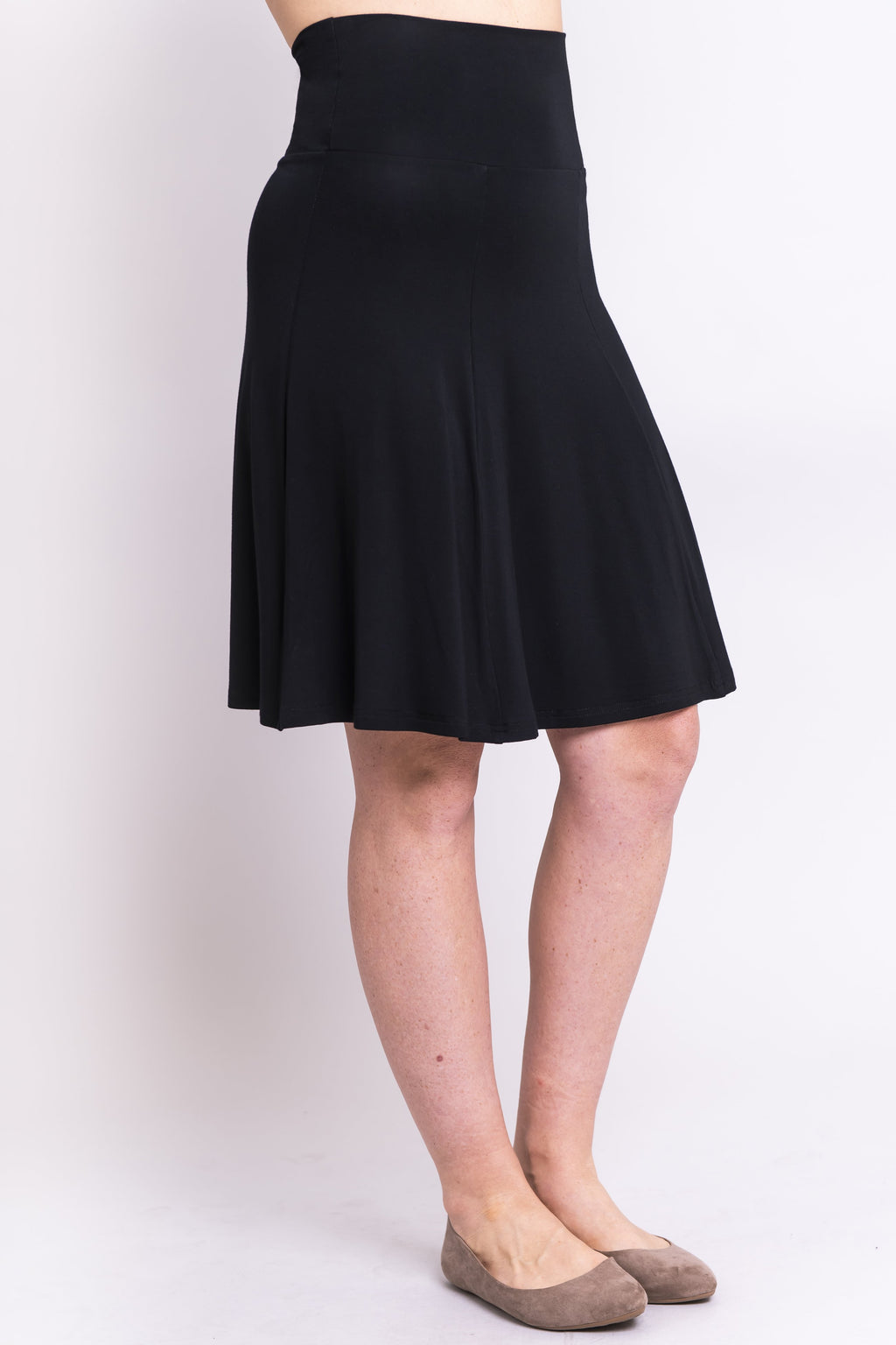 Aly Skirt, Black, Bamboo - Blue Sky Clothing Co