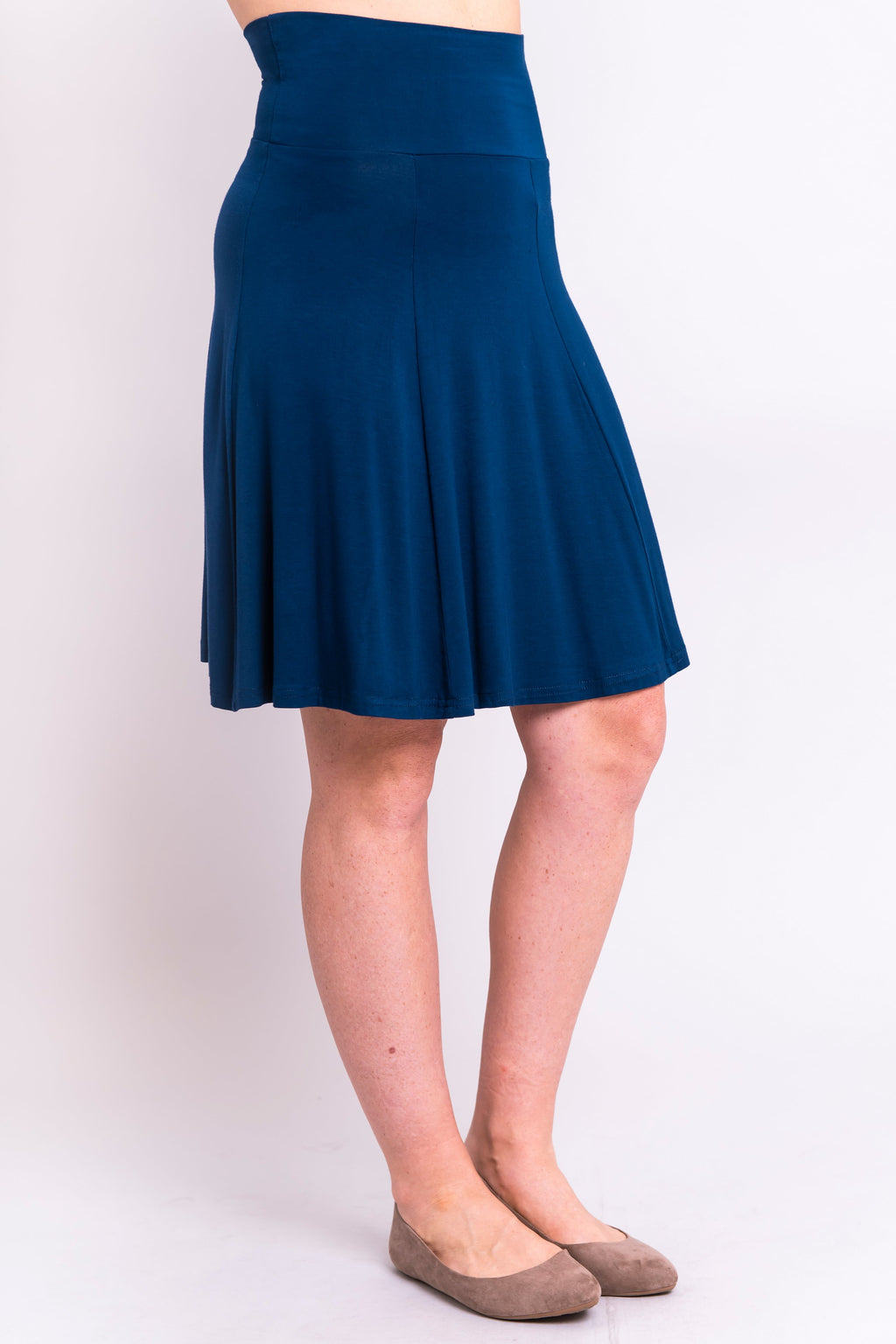 Aly Skirt, Indigo, Bamboo - Blue Sky Clothing Co