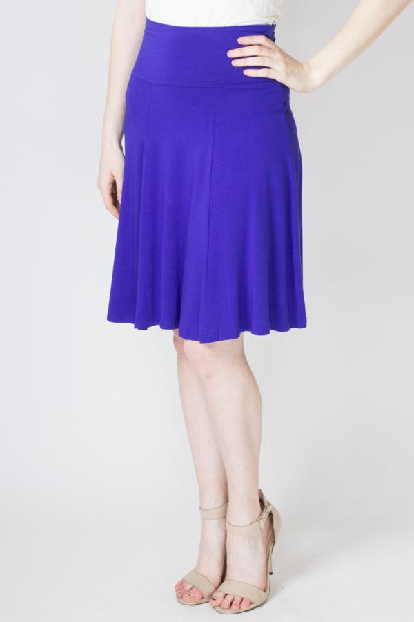 Aly Skirt, Violet - Blue Sky Clothing Co