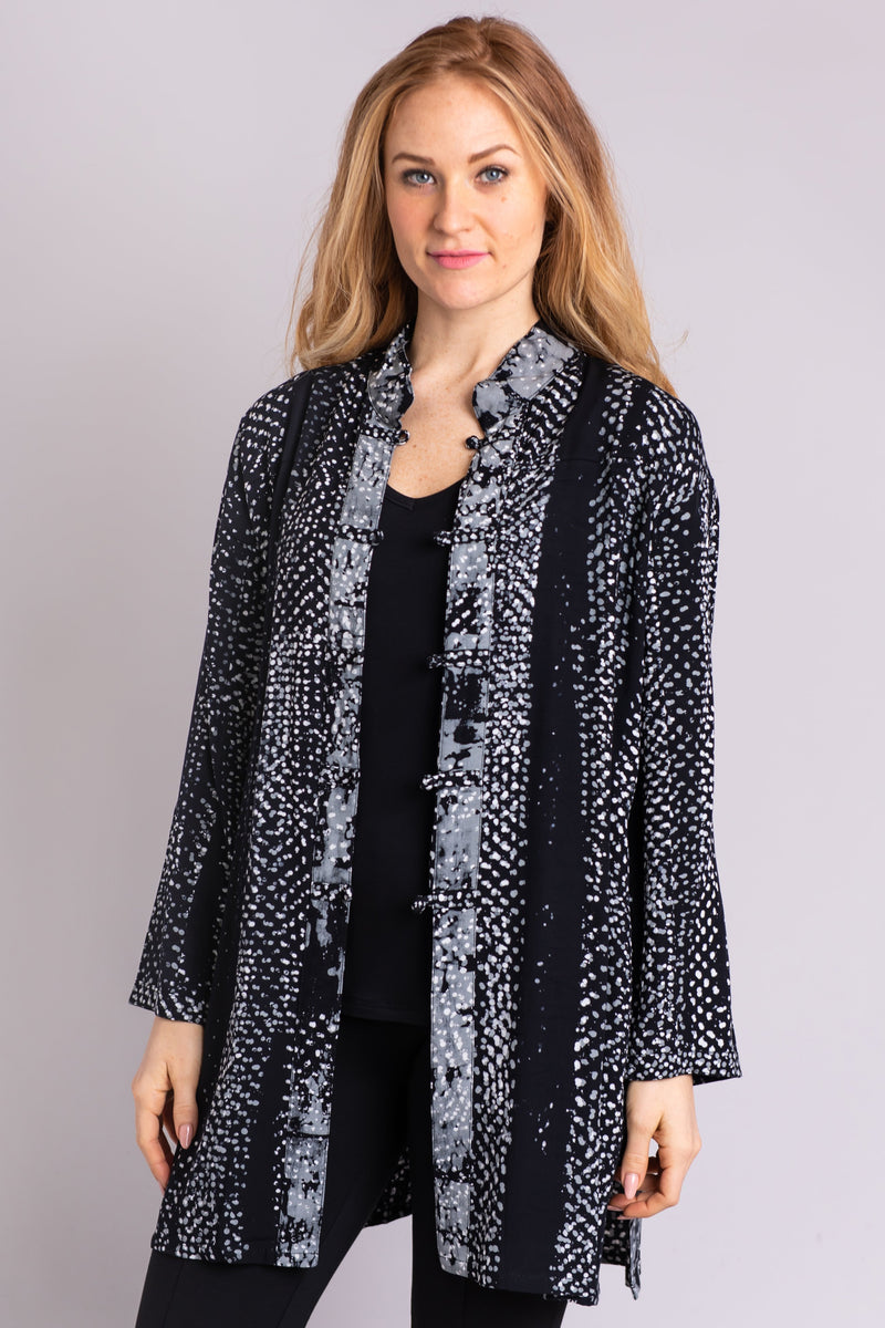 Asia Tunic, Grey Aridot - Blue Sky Clothing Co