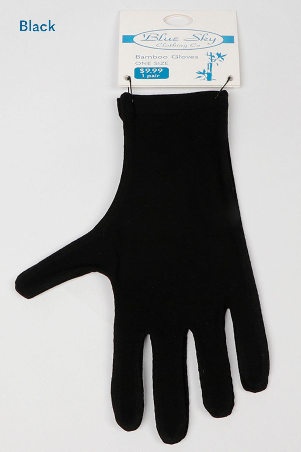 Bamboo Gloves, Pack of 3 pairs, Assorted colours - Blue Sky Clothing Co