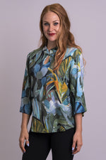 Beijing Top, Green Room, Linen Bamboo - Blue Sky Clothing Co