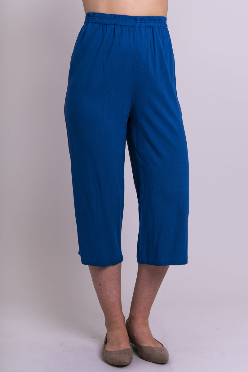 Bella Capri, Sapphire, Linen Bamboo - Blue Sky Clothing Co