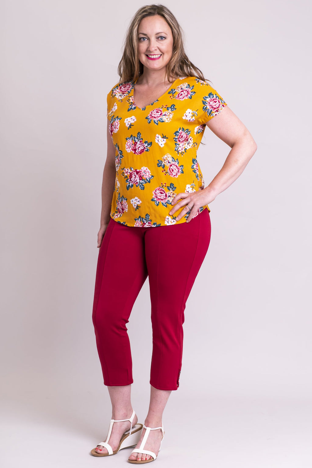 Birdsong Top, Honey Clusters, Viscose - Blue Sky Clothing Co