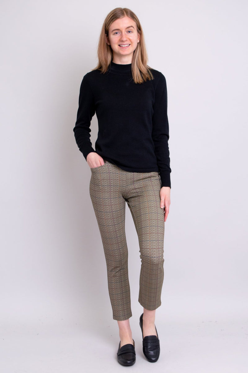 Satine Pant, Harris Tweed, Modal