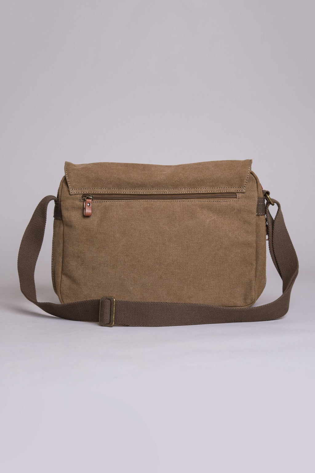 Outlook Canvas Bag, Brown