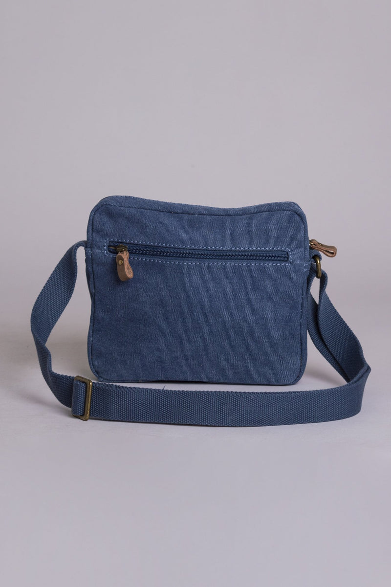 Prospect Canvas Bag, Blue - Blue Sky Clothing Co