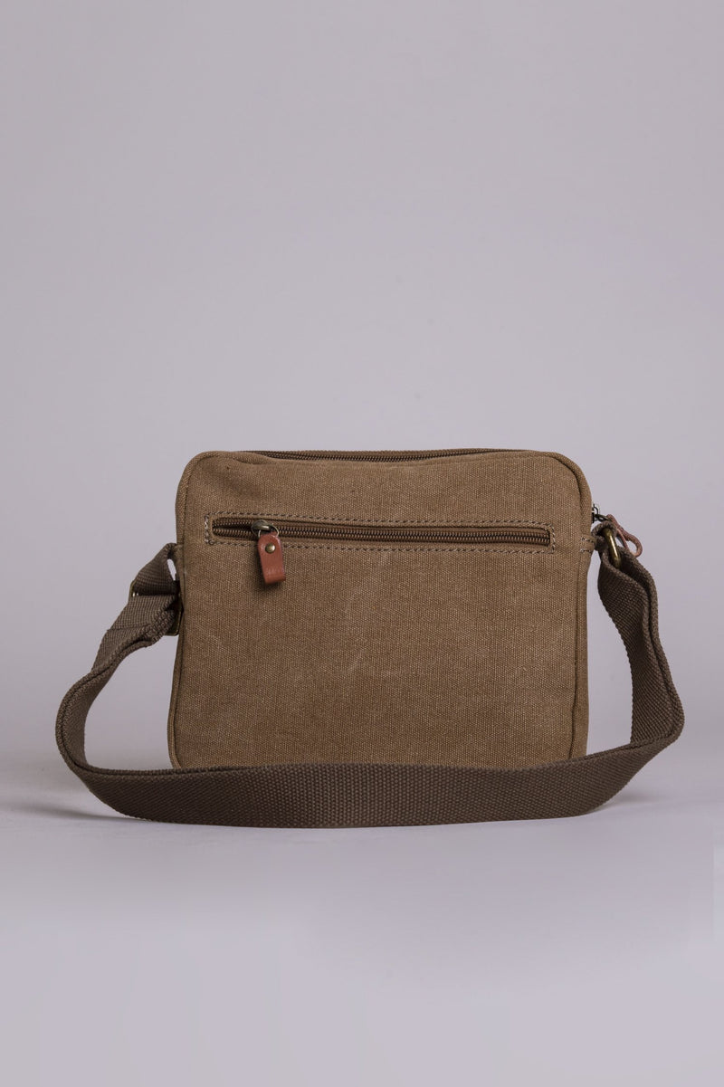 Prospect Canvas Bag, Brown - Blue Sky Clothing Co