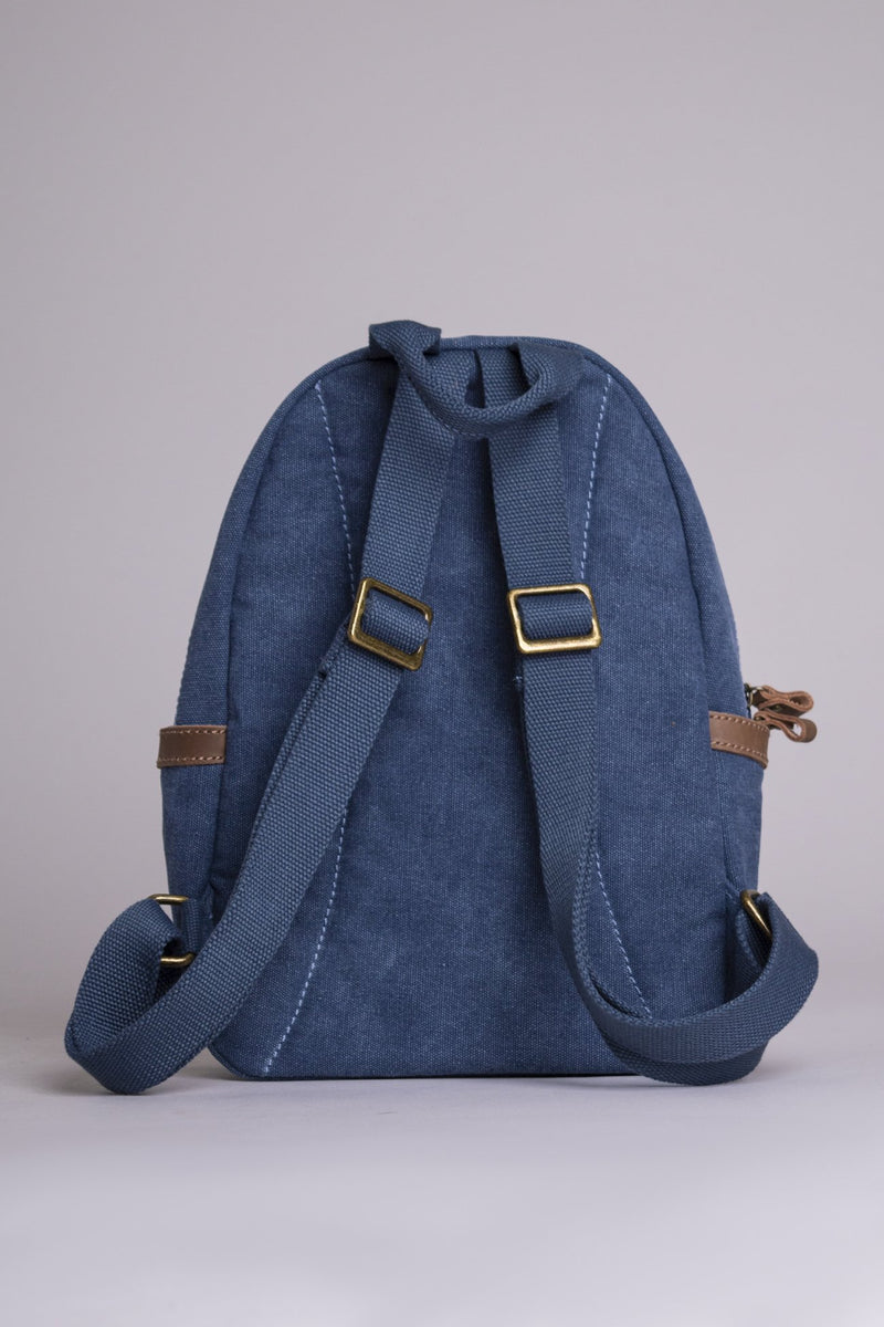 Voyage Canvas Bag, Blue - Blue Sky Clothing Co
