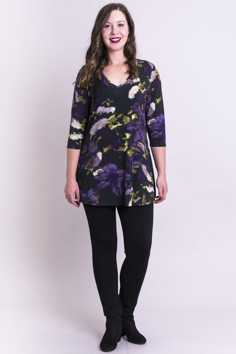 Courage Top, Clematis, Bamboo - Blue Sky Clothing Co