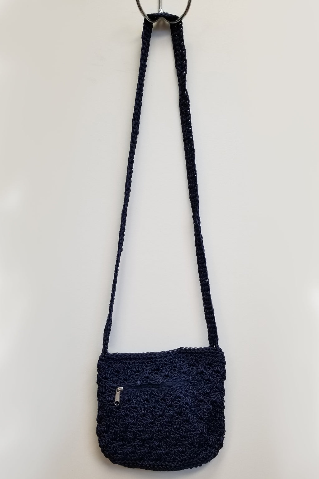 Crochet Bag Medium, Indigo - Blue Sky Clothing Co