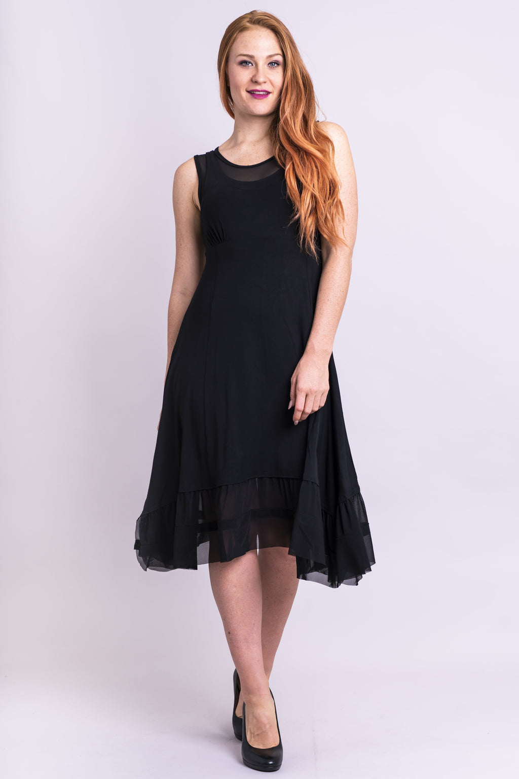 Danube Dress, Black, Bamboo - Blue Sky Clothing Co