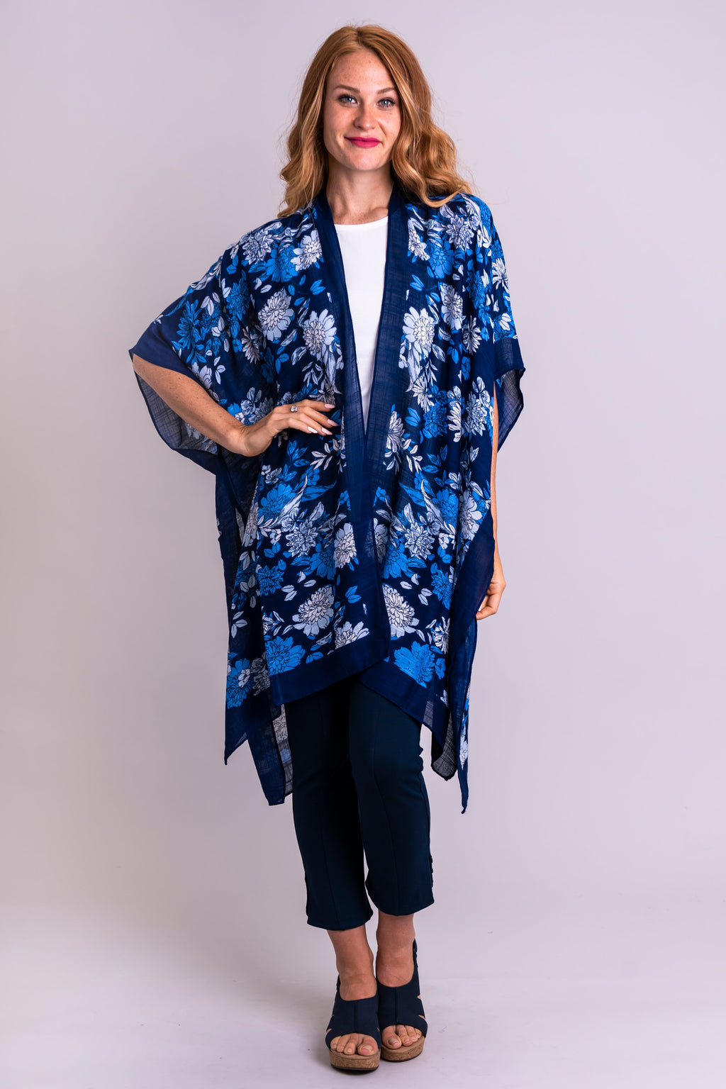 Darcy, Blue Tranquility - Blue Sky Clothing Co