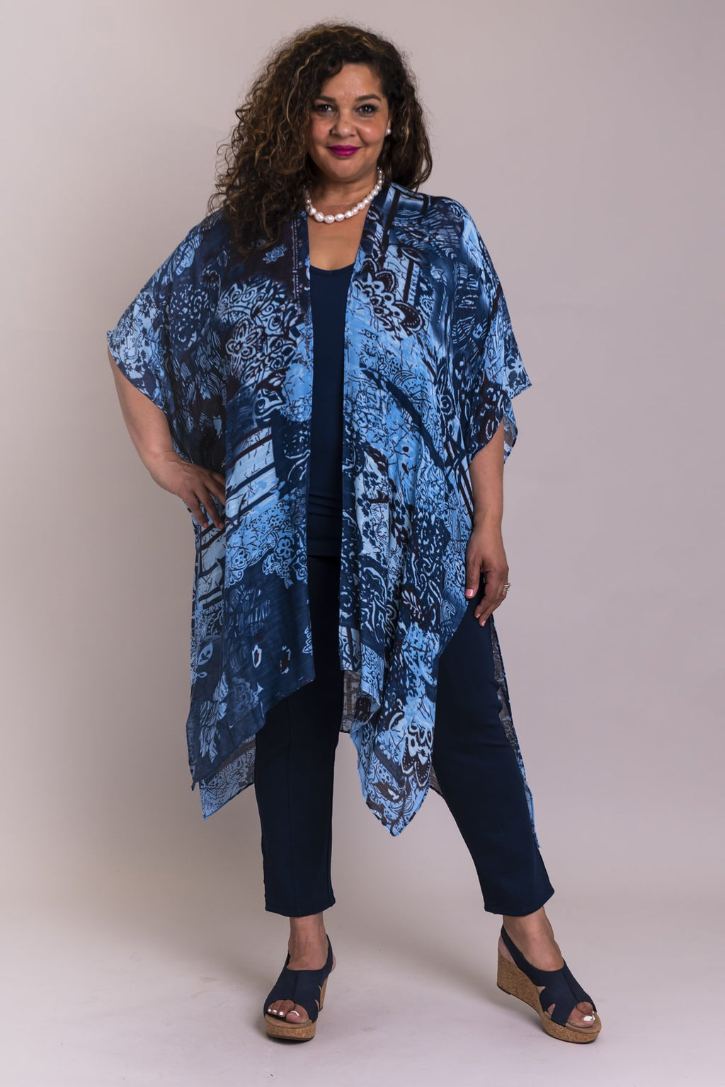 Darcy Coverup, Ornamental Bliss, Viscose One Size