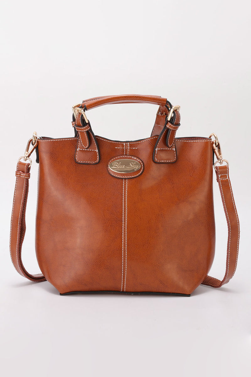 Dakota Bag, Brown - Blue Sky Clothing Co