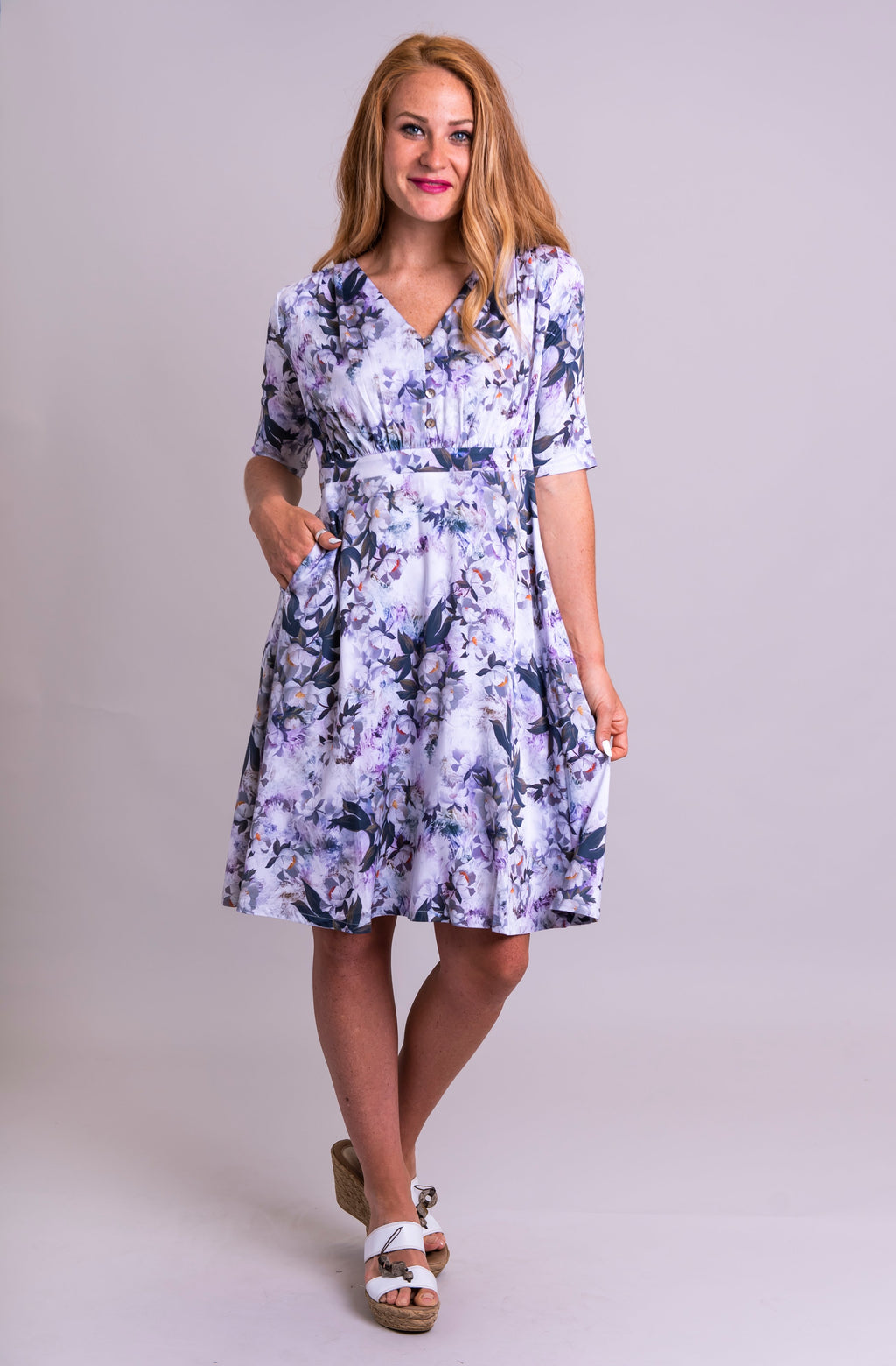 Emerson Dress, Belladonna