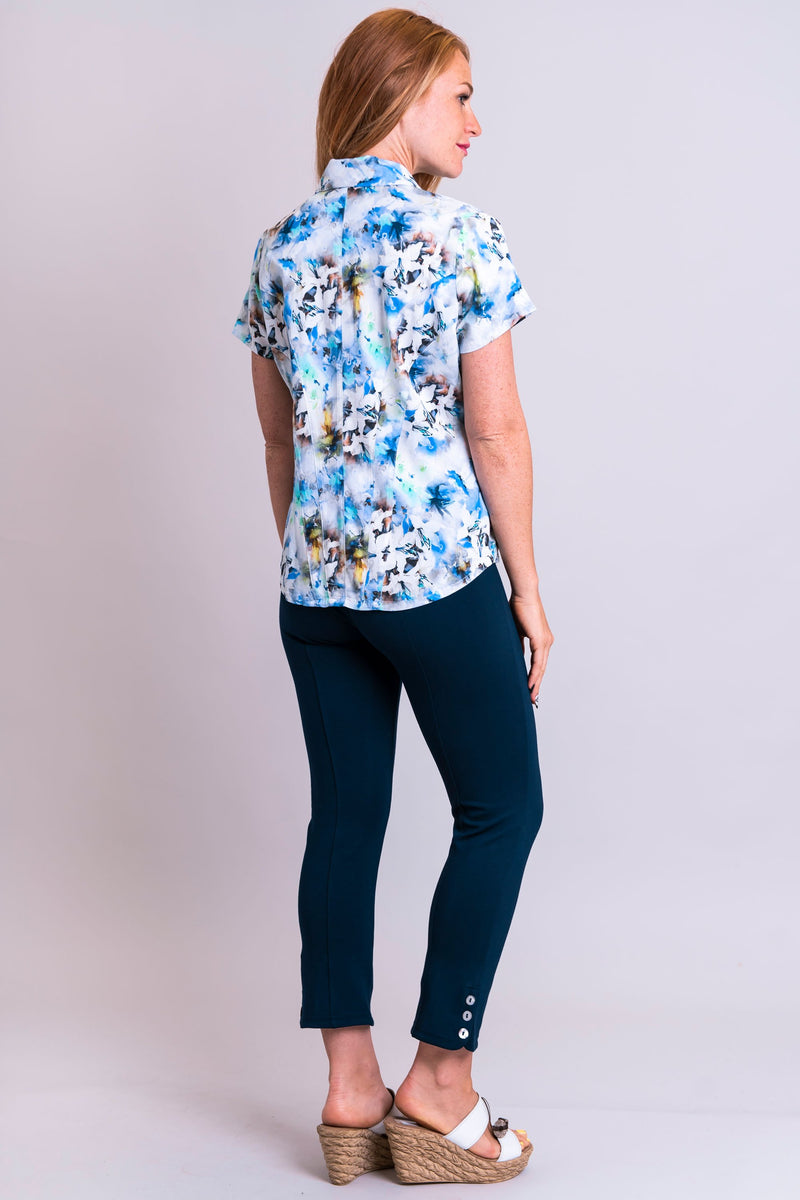Esther Blouse, Legendary, Viscose - Blue Sky Clothing Co