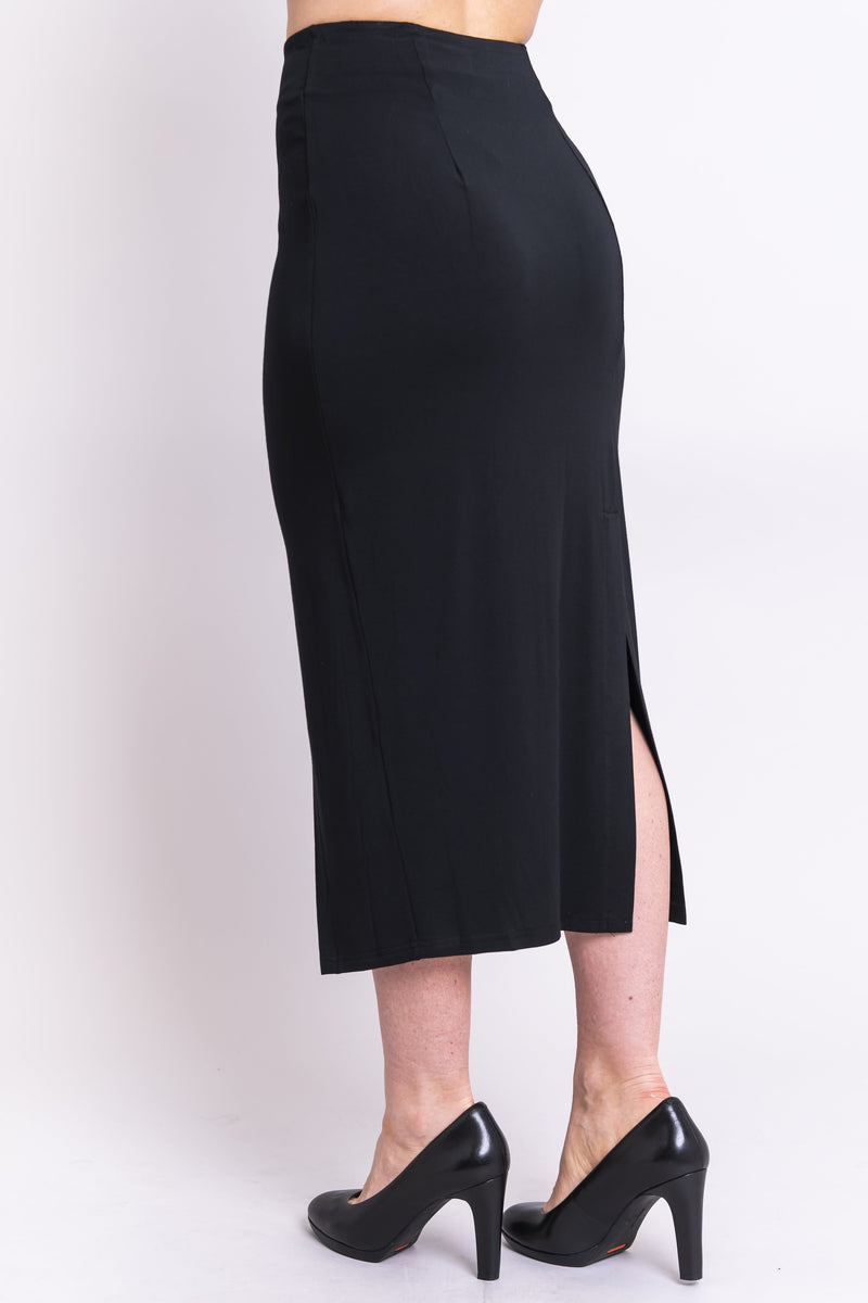 Eva Skirt, Black, Bamboo - Blue Sky Clothing Co