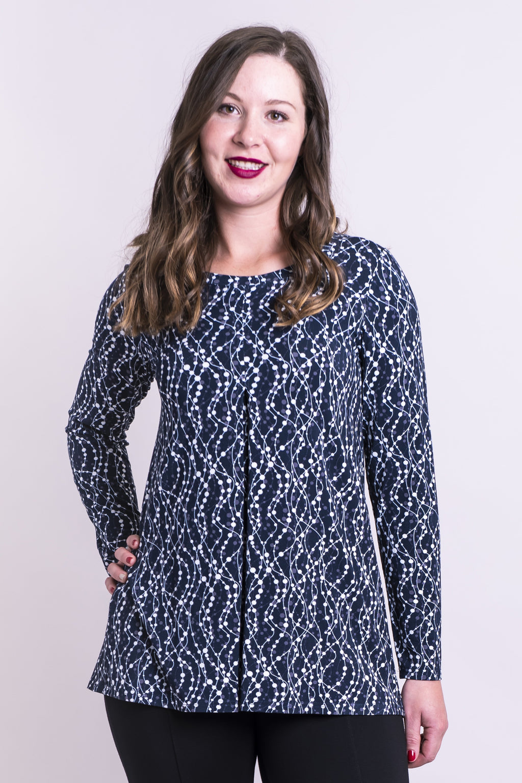 Franca Top, Interconnection, Bamboo - Blue Sky Clothing Co