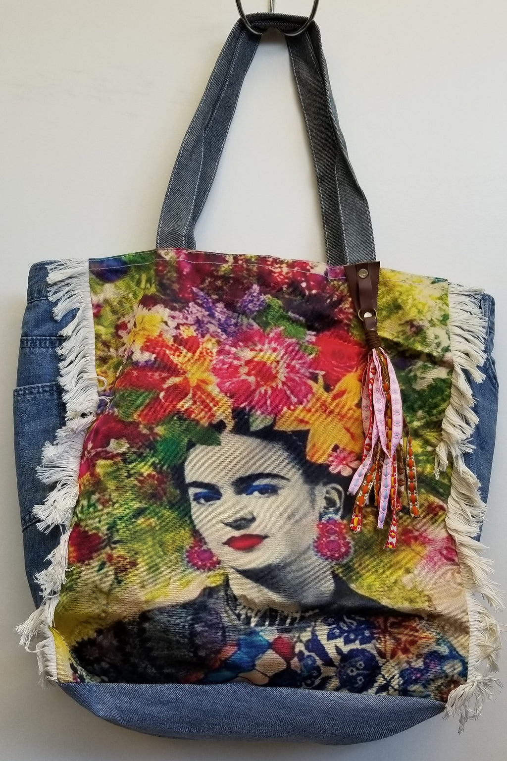 Frida Denim Bag - Blue Sky Clothing Co