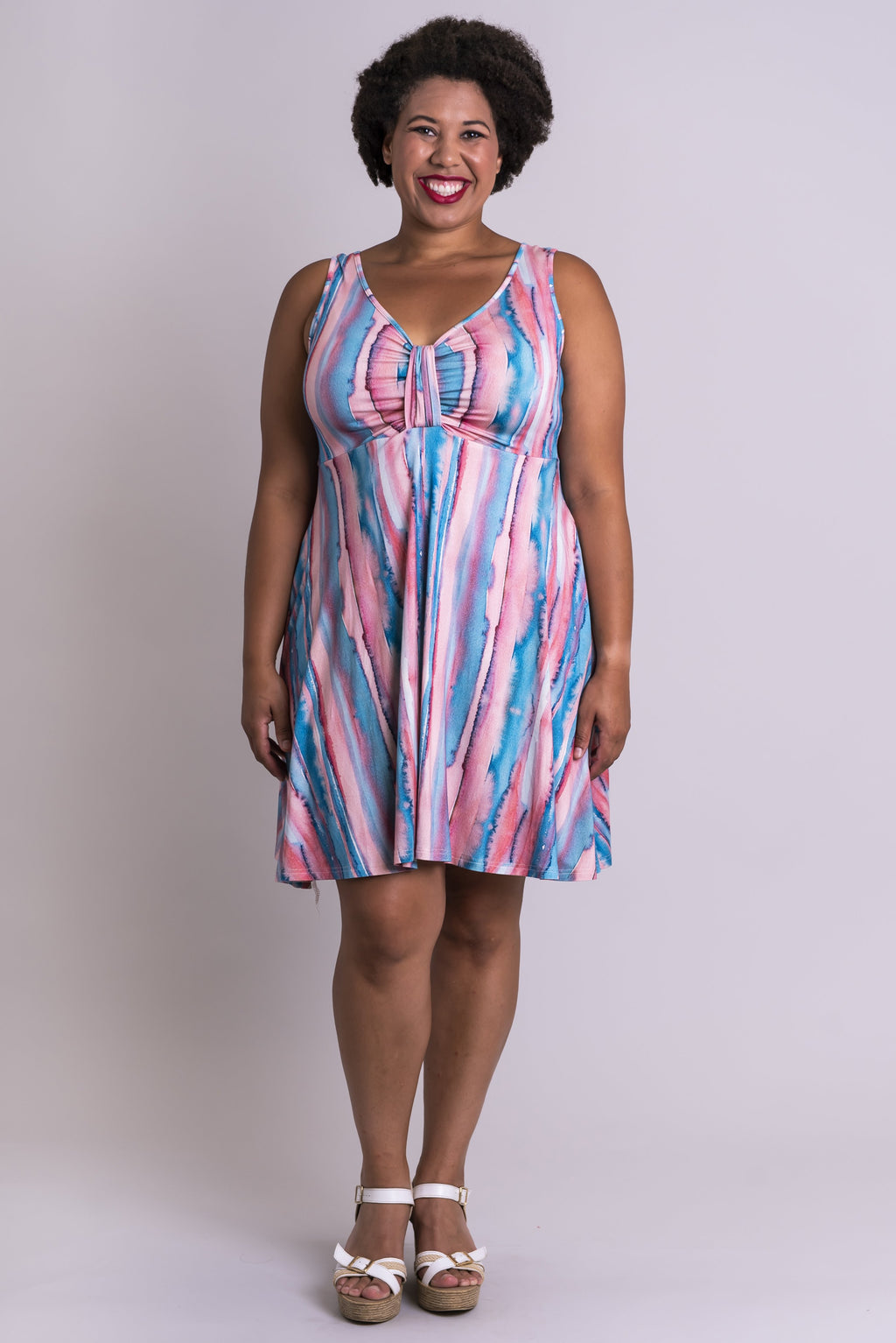 Genesis Dress, Lagoon, Bamboo - Blue Sky Clothing Co
