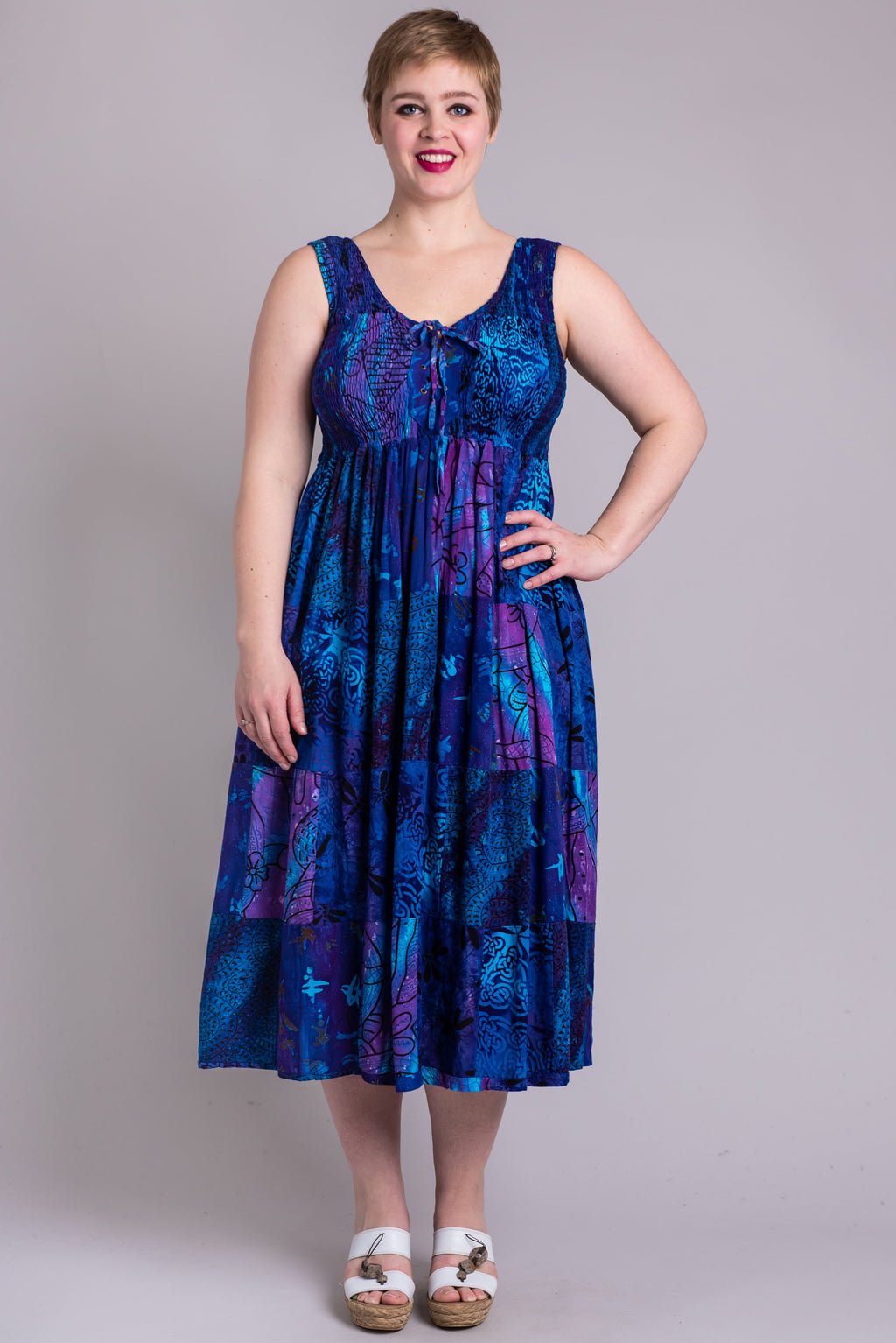 Giselle Maxi, Violet Love - Blue Sky Clothing Co