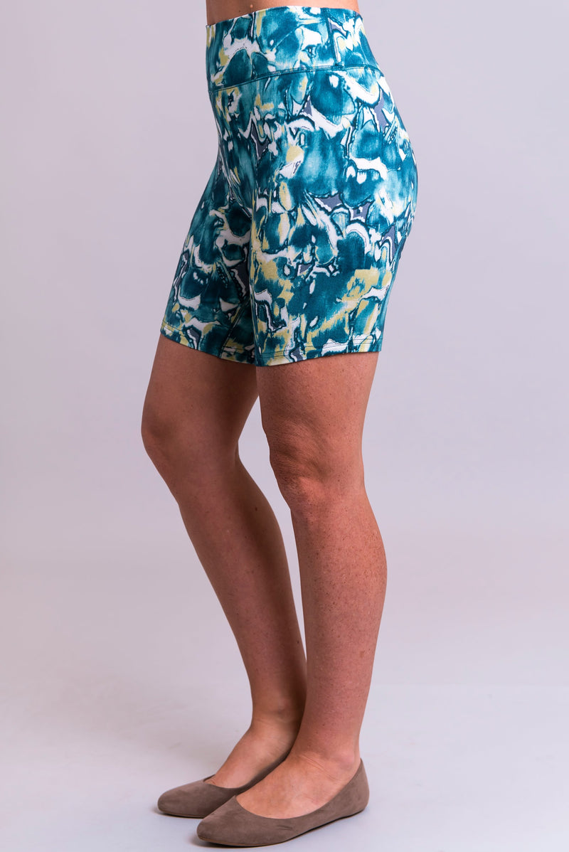 Hallie Undershorts, Beachwaves, Bamboo - Blue Sky Clothing Co